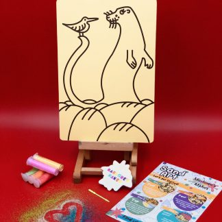 Ailsa Black Otter Sand Art Home Kit