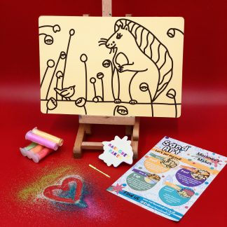 Ailsa Black Squirrel Sand Art Kit