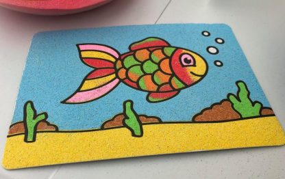 A5 Fish Take Home Sand Art Pack