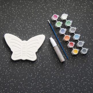 Midi Butterfly Pottery Set