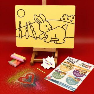 Rabbit Sand Art Kit