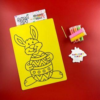 Easter Bunny Sand Art