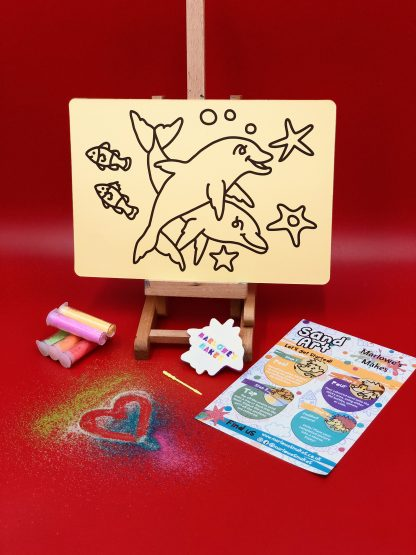 Dolphin Sand Art Home Kit