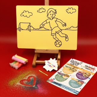 Footballer Sand Art Kit