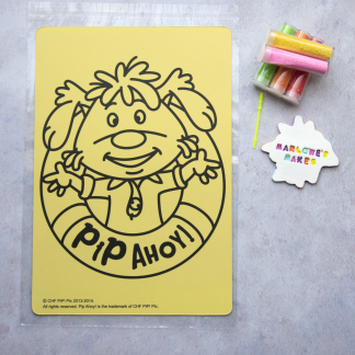 A4 Pip Ahoy Take Home Sand Art Pack