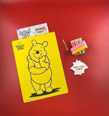 Winnie The Pooh Sand Art