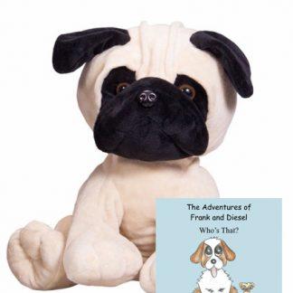 Pug Make-A-Bear Home Pack and Book (Frank)