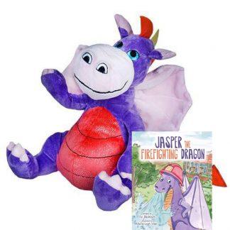 Dragon Make-A-Bear Home Pack and Book (Jasper)