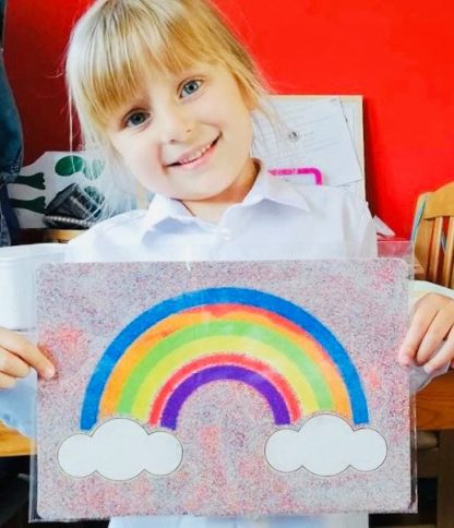Rainbow Sand Art Home Kit