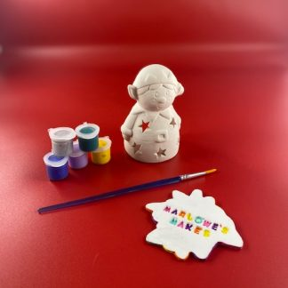 Elf Pottery Kit – Paint Your Own Ceramic