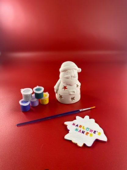 Santa pottery kit