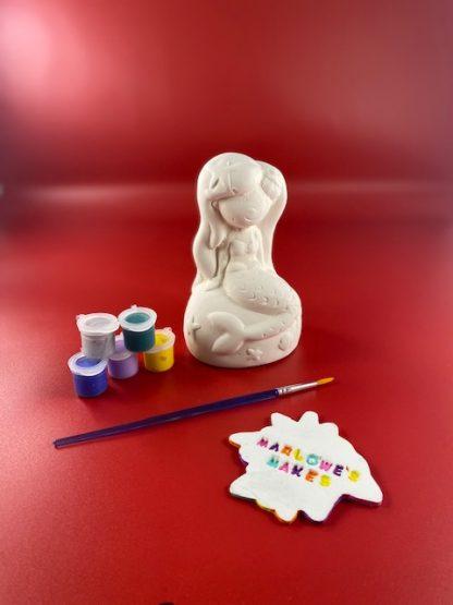 Mermaid pottery kit