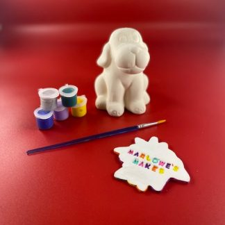 Dog Pottery Kit – Paint Your Own Ceramic