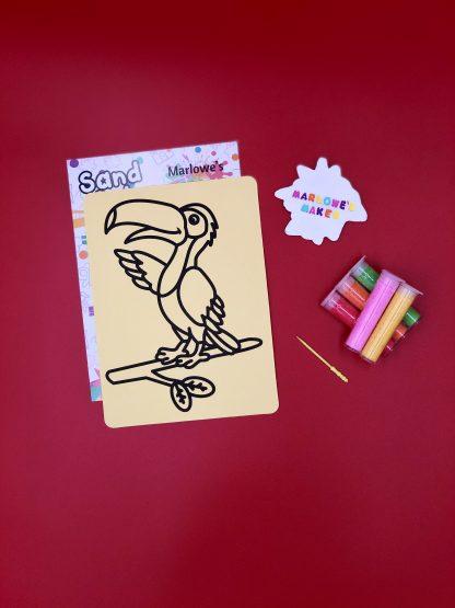 Toucan Sand Art Kit
