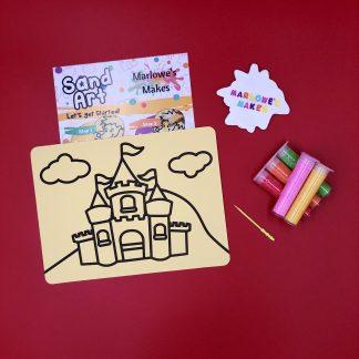 Castle Sand Art Home Kit