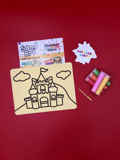 Castle Sand Art Kit