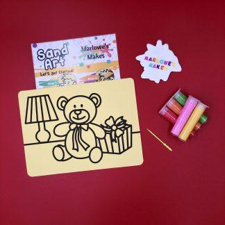 Christmas Present Sand Art Home Kit