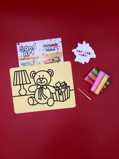 Christmas Present Sand Art Kit