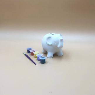 Elephant Pottery Kit – Paint Your Own Ceramic