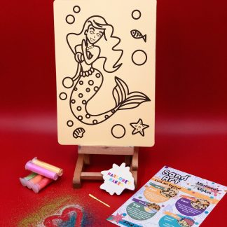 Ariel Mermaid Sand Art Home Kit