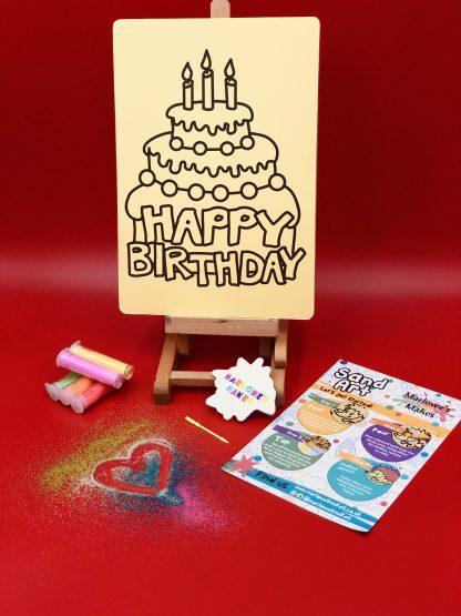 Happy Birthday Sand Art Kit