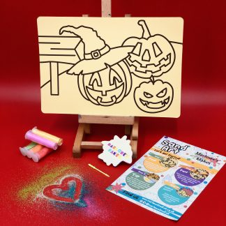 Pumpkin Sand Art Kit