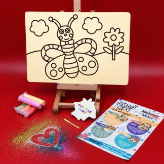 Butterfly Sand Art Home Kit