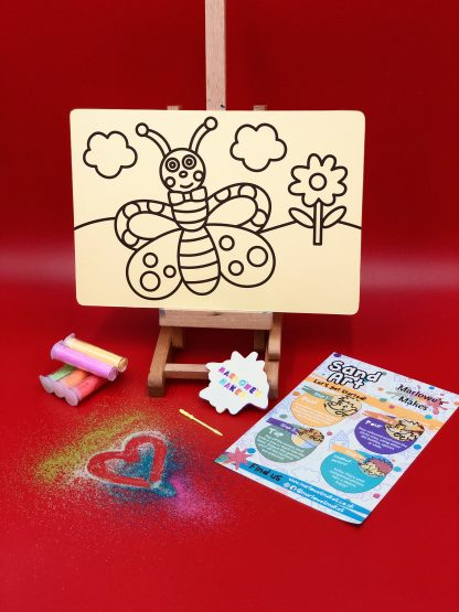 Butterfly Sand Art Kit