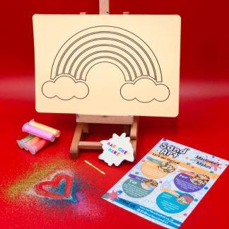 Fun Craft Rainbow Sand Art Kit