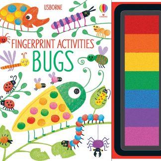 Fingerprint Activities Bugs Hardcover