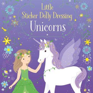 Little Sticker Dolly Dressing Unicorns Paperback