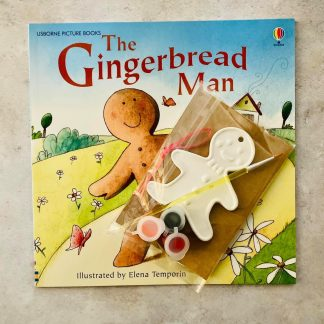 Ceramic Gingerbread Hanging Decoration & Book