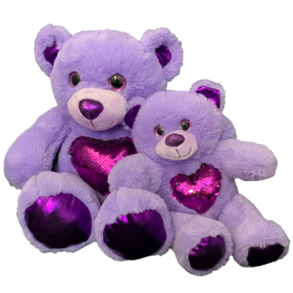 Purple Bear Make-A-Bear Home Pack (Glitz)