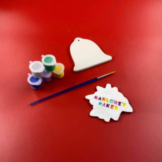 Bell Decoration Pottery Kit – Paint Your Own Ceramic