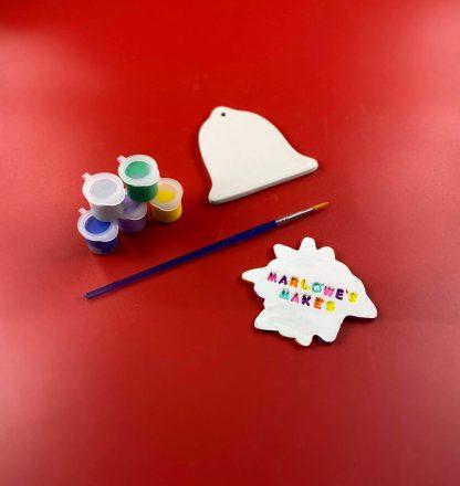 Bell decoration pottery kit