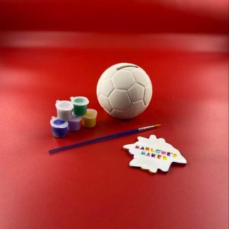 Football Pottery Kit – Paint Your Own Ceramic