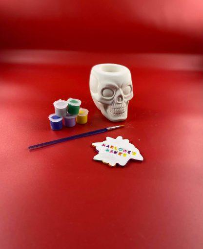 Skull pottery kit