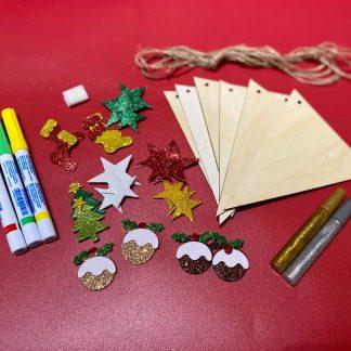 Christmas Bunting Craft Kit