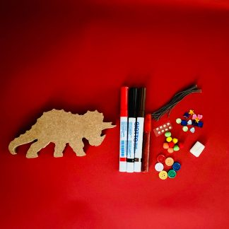 Make Your Own Triceratops Craft Kit