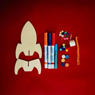 Make Your Own 3D Rocket Craft Kit