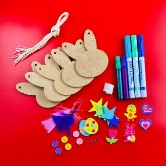 Make Your Own Easter Bunny Bunting Craft Kit