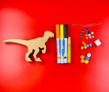 Velociraptor craft kit