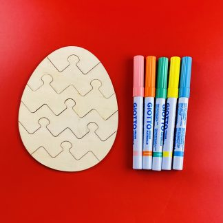 Make Your Own Easter Egg Puzzle Craft Kit
